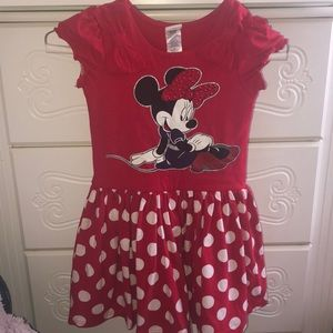 Minnie Mouse dress size 6